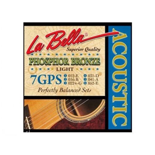 LA BELLA 7GPS Žice za akustičnu gitaru