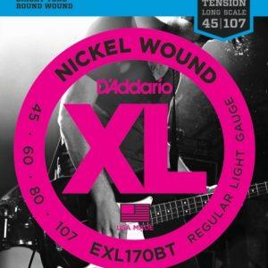 D'addario EXL170BT žice za bas gitaru