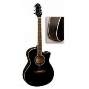 FLIGHT G-210CEQ BK Elektroakustična gitara