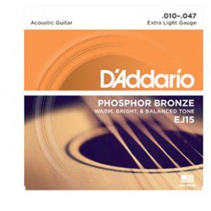 D'addario EJ15 žice za akustičnu gitaru