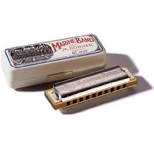 Hohner Marine Band C D E F M1896056 usna harmonika