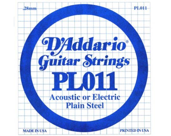 D'addario PL011 pojedinačna žica