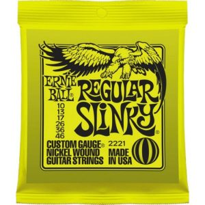 Ernie Ball Regular Slinky 10-46 žice za električnu gitaru P02221
