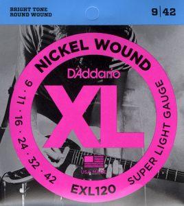 D'addario EXL120 žice za električnu gitaru