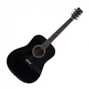 Eclipse CX-S022 akustična gitara Crna/Sunburst