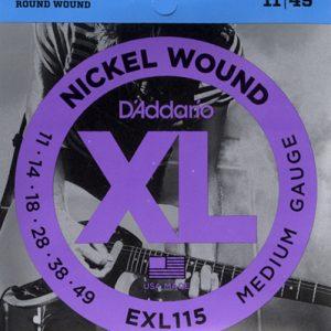 D'addario EXL115 žice za električnu gitaru