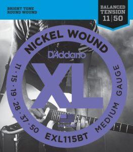D'addario EXL115BT žice za električnu gitaru