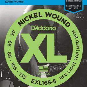 D'addario EXL165-5 žice za bas gitaru