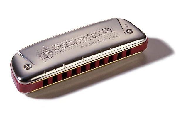 Hohner Golden Melody C E G Ab M542016 usna harmonika