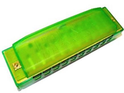 Hohner Happy C Zelena Plava Crvena usna harmonika