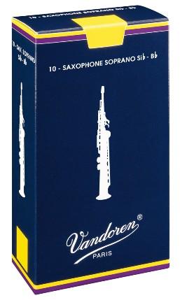 Vandoren Bb trska za sopran saksofon 3