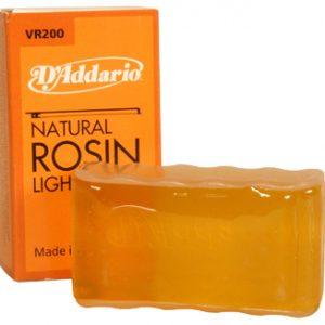D'addario VR200 Rosin LIght svetli kalofonijum za violinu