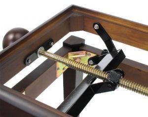 Classic Cantabile CC-P klavirska klupa braon/crna mat