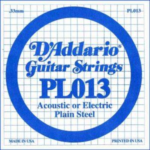 D'addario PL013 pojedinačna žica