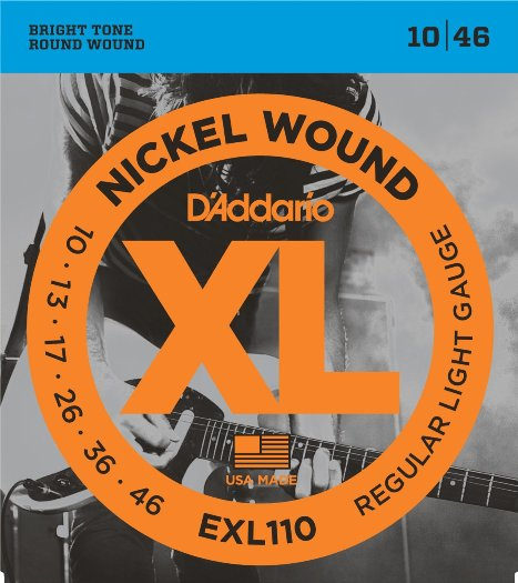D'addario EXL110 žice za električnu gitaru