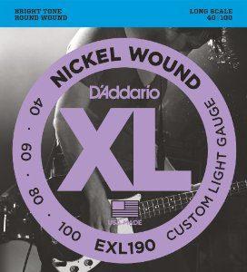 D'addario EXl190 žice za bas gitaru