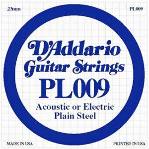 D'addario PL009 pojedinačna žica