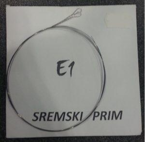 E1 žice za Sremski prim